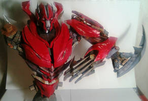 Mirage (Dino) papercraft current progress by dmitry280