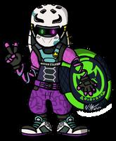 Kid Cobra Chibi by Lexiathecat