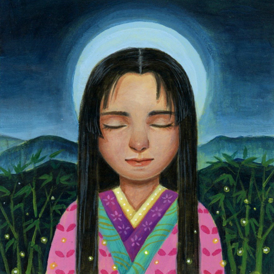 Princess Kaguya by thinhnguyenart