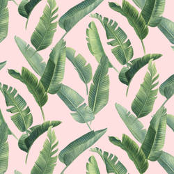 Banana Leaves by thinhnguyenart
