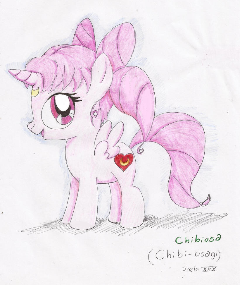My little pony - Chibimoon by tantei-fox03