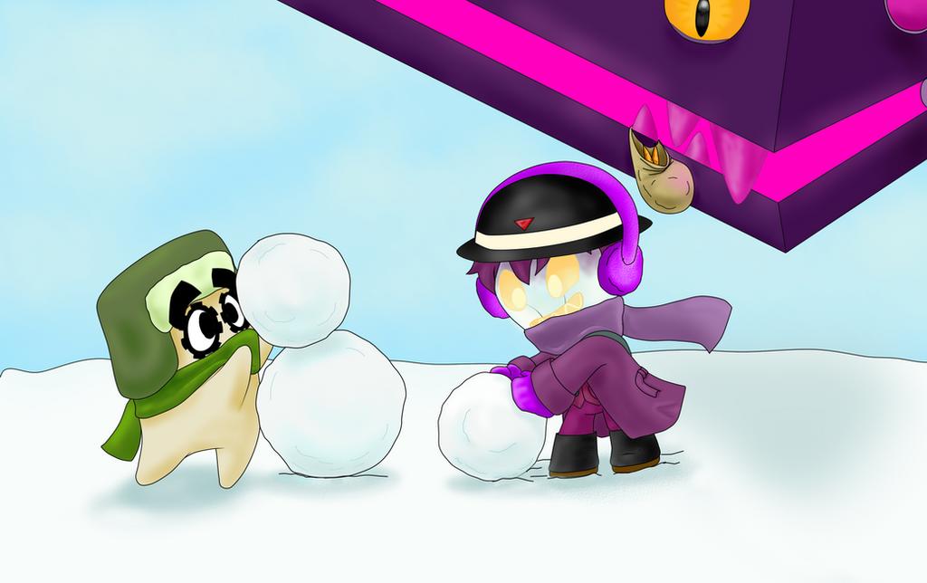 LBP - What if we make a snowman? by tantei-fox03