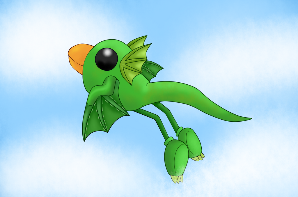 LBP3 - Swoop .:the king of the sky:. by tantei-fox03