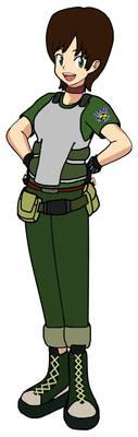 Rebecca Chambers from Resident Evil Zero