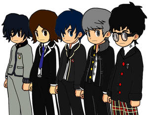 The Male Persona Protagonists