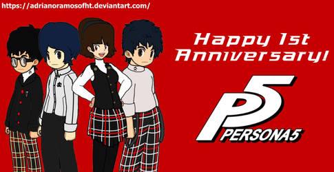 Persona 5 1st Anniversary