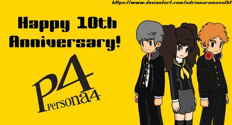 Persona 4 10th Anniversary