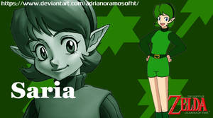 Saria from The Legend of Zelda - ID Image