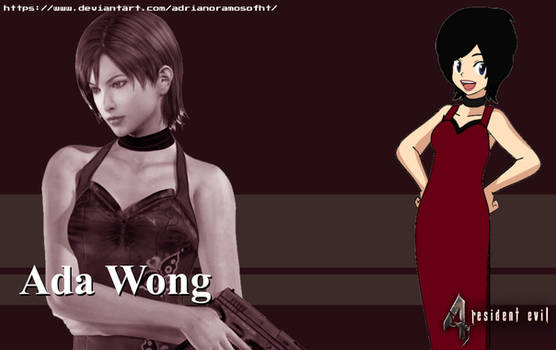 Ada Wong from Resident Evil 4 - ID Image