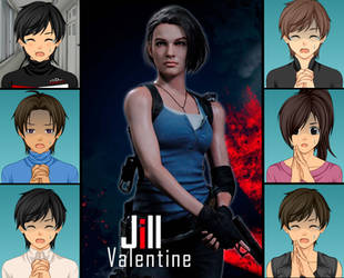 Reacting to The Jill Valentine's Redesign on RE3HD