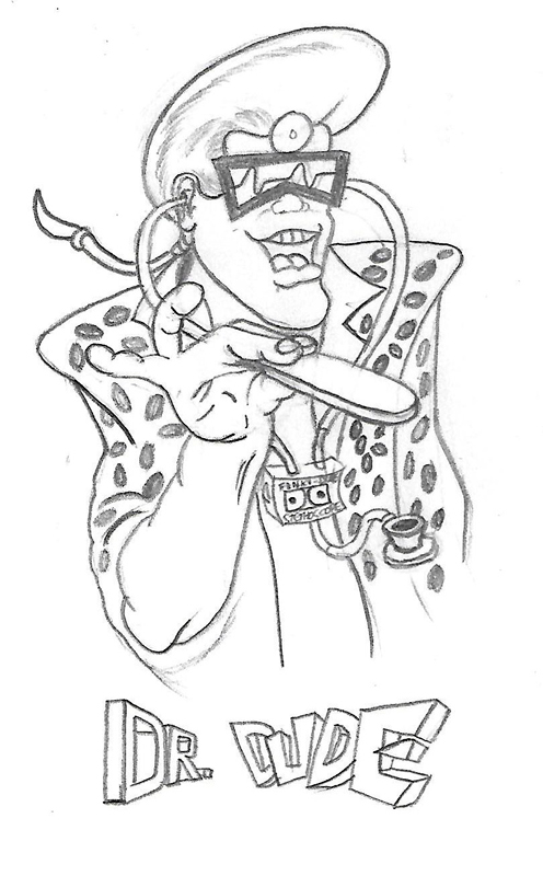 Dr. Dude (Sketch) by T-Newton