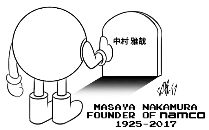 R.I.P. Masaya Nakamura, founder of Namco by T-Newton