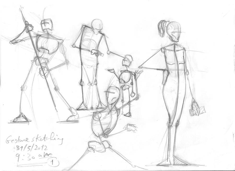 Fantastic Stick Figure Anatomy Model - Anatomy And Physiology ...