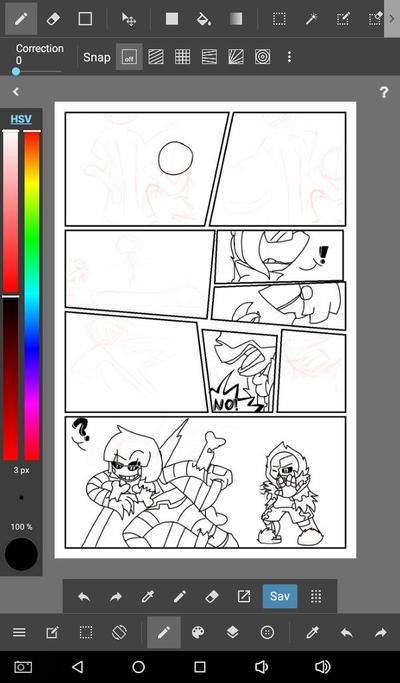 random Comic w.i.p. by NinjaKitteh97