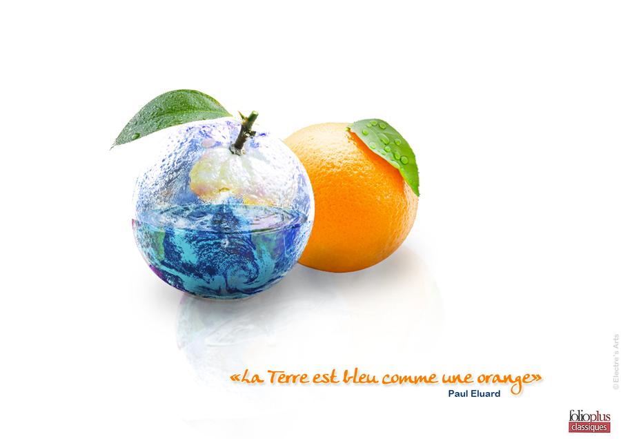 La Terre est ronde comme orange by Shaeldrynn on DeviantArt