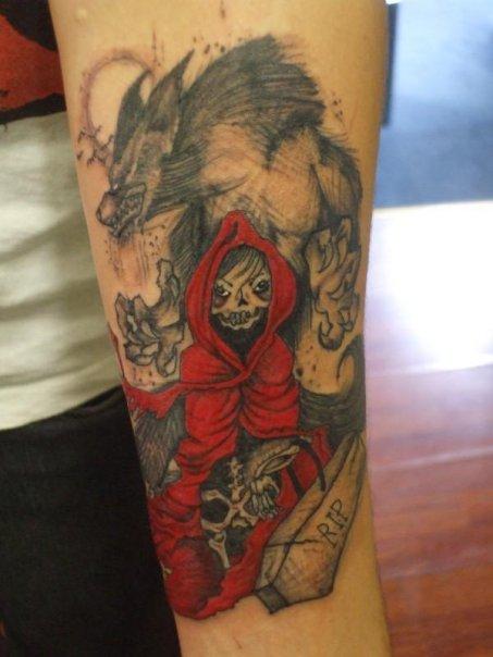 top red thug skulls images for pinterest tattoos. Black Bedroom Furniture Sets. Home Design Ideas