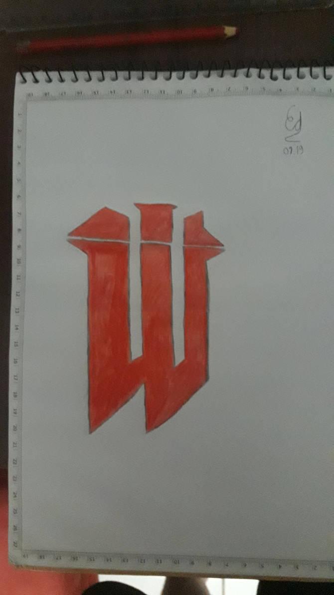 Wolfenstein logo redraw