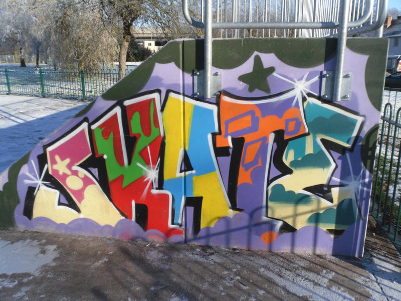 Skate park graffiti art 2 by krissienekochan on deviantart skate park graffiti art 2 by krissienekochan thecheapjerseys Gallery