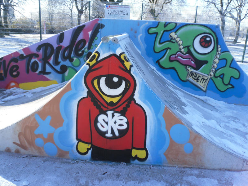 Skate park graffiti art 6 by krissienekochan on deviantart skate park graffiti art 6 by krissienekochan thecheapjerseys Gallery