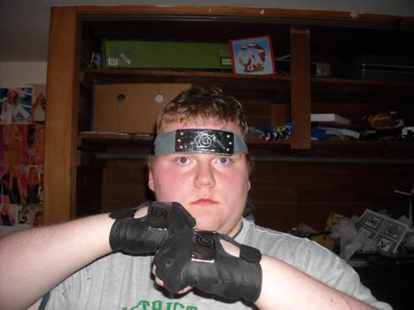 me with my ninja gear on