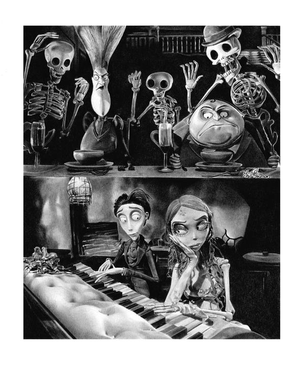 Tim Burton's Corpse Bride by IrisBouman