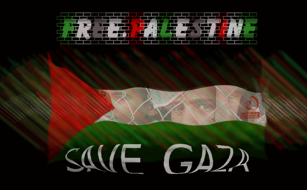 Free palestine, Save Gaza Wallpaper by chromdesign