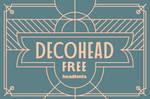 Decohead by Headfonts