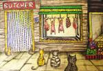 kediler kasap olurmus... by OluDeniz