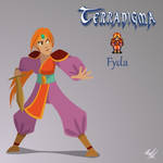 Terranigma ''remake'' - Fyda by BjornKeks