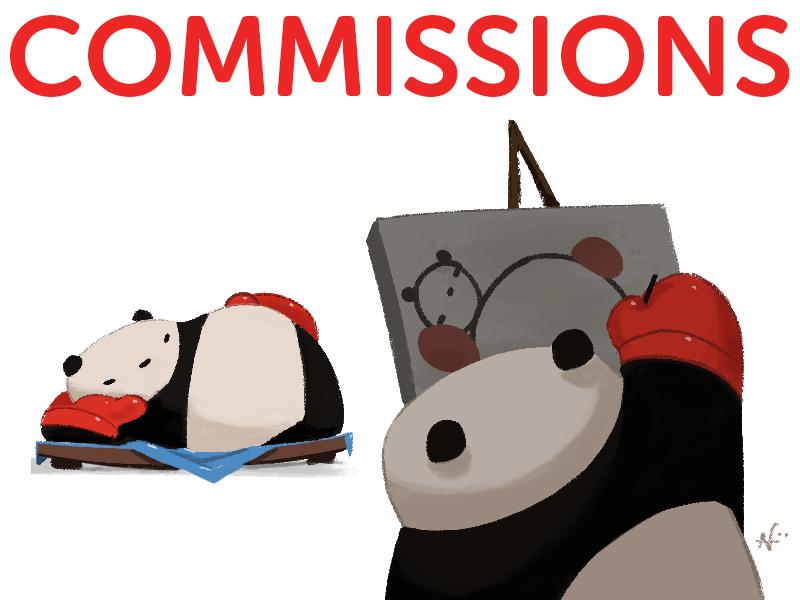 20150817 CommissionPandas by PunchingPandas