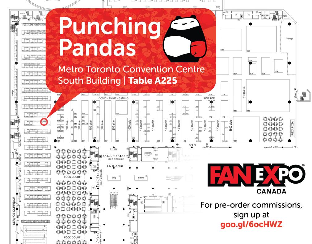 20150903 FanExpoCanadaLocation by PunchingPandas