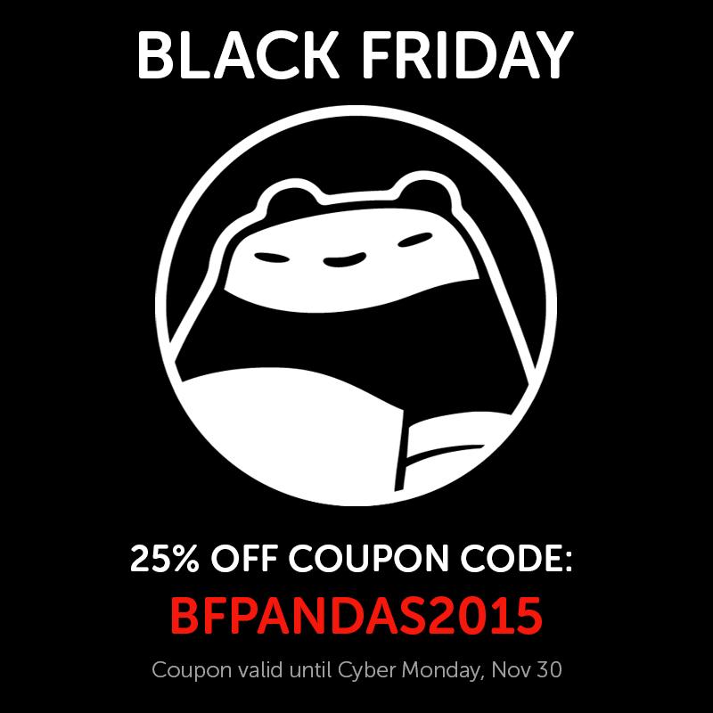 20151123 BlackFriday by PunchingPandas
