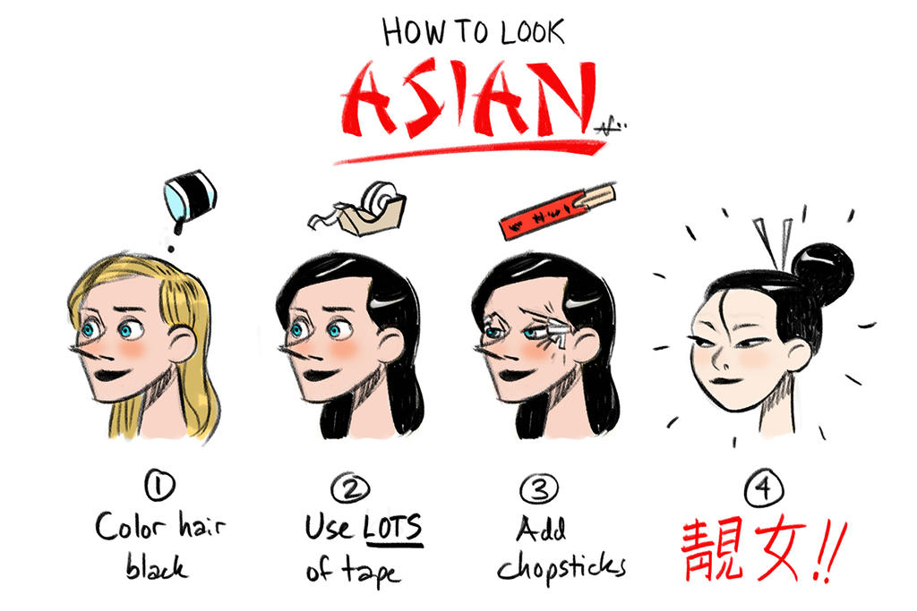 How To Look Like A Asian 78