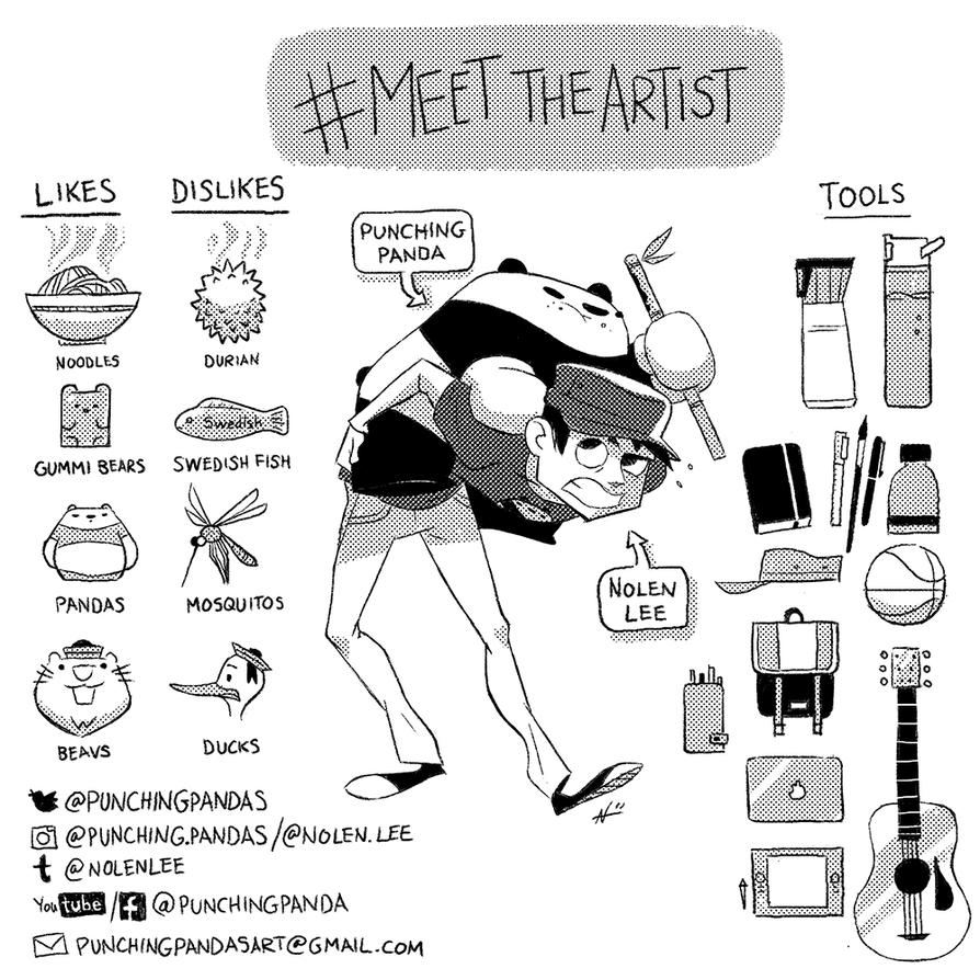 Meet the Artist! by PunchingPandas