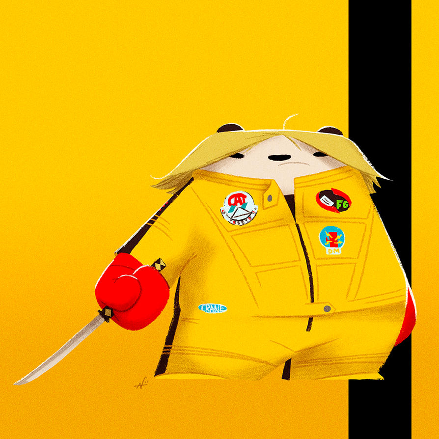 Kill Bill Panda by PunchingPandas