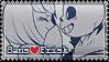 Undertale Stamp: Sans / Frisk by alpakami