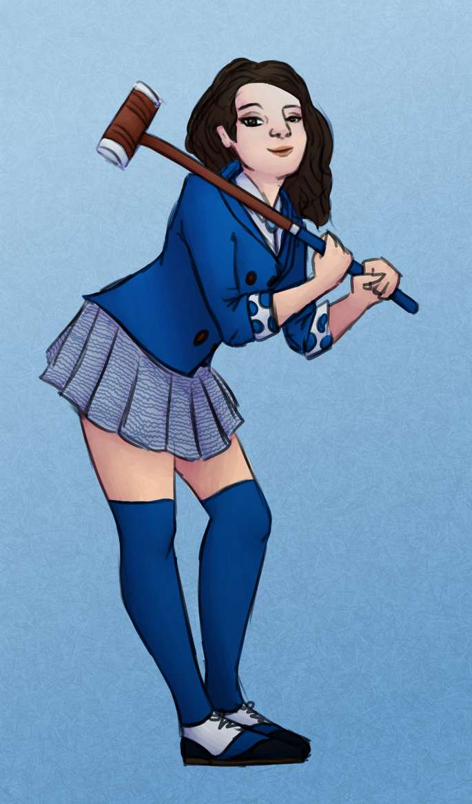 Veronica Sawyer by ectonurites on DeviantArt Heathers The Musical Jd