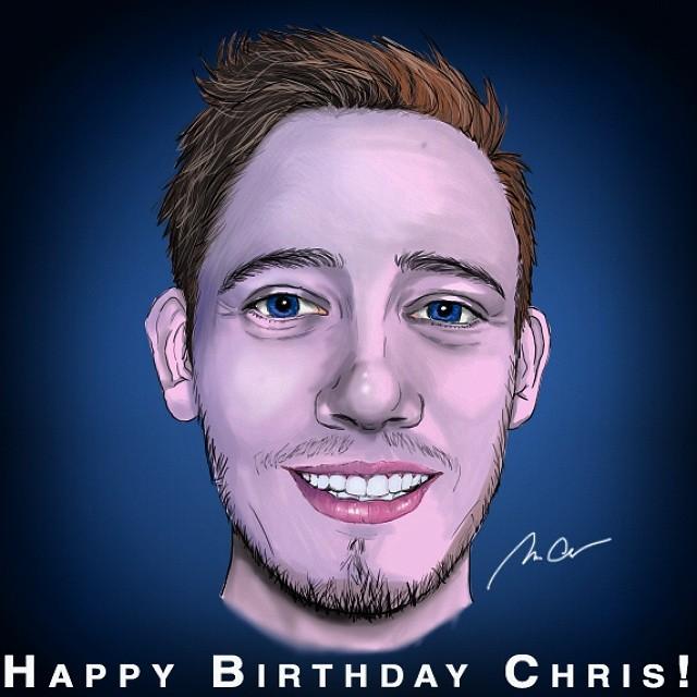 Birthday Gift: Chris by mazziiCHUA