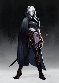 Dragonborn thief