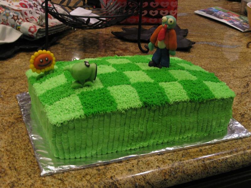 Plants Vz Zombies Cake by RozMartinez on DeviantArt
