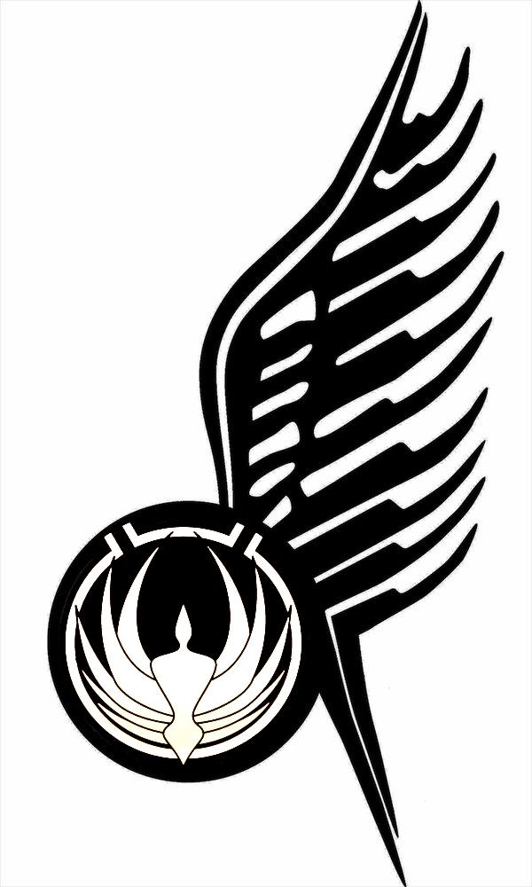 bsg wing tattoo v3 by navyaerophys on deviantart ForBattlestar Galactica Tattoo