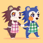 Sable and Mabel Animal Crossing