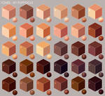 Skin Tone Cubes - Free to Use