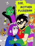 Raven Belongs to Beast Boy by cloudberry0