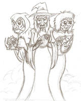 Witches Three by cloudberry0