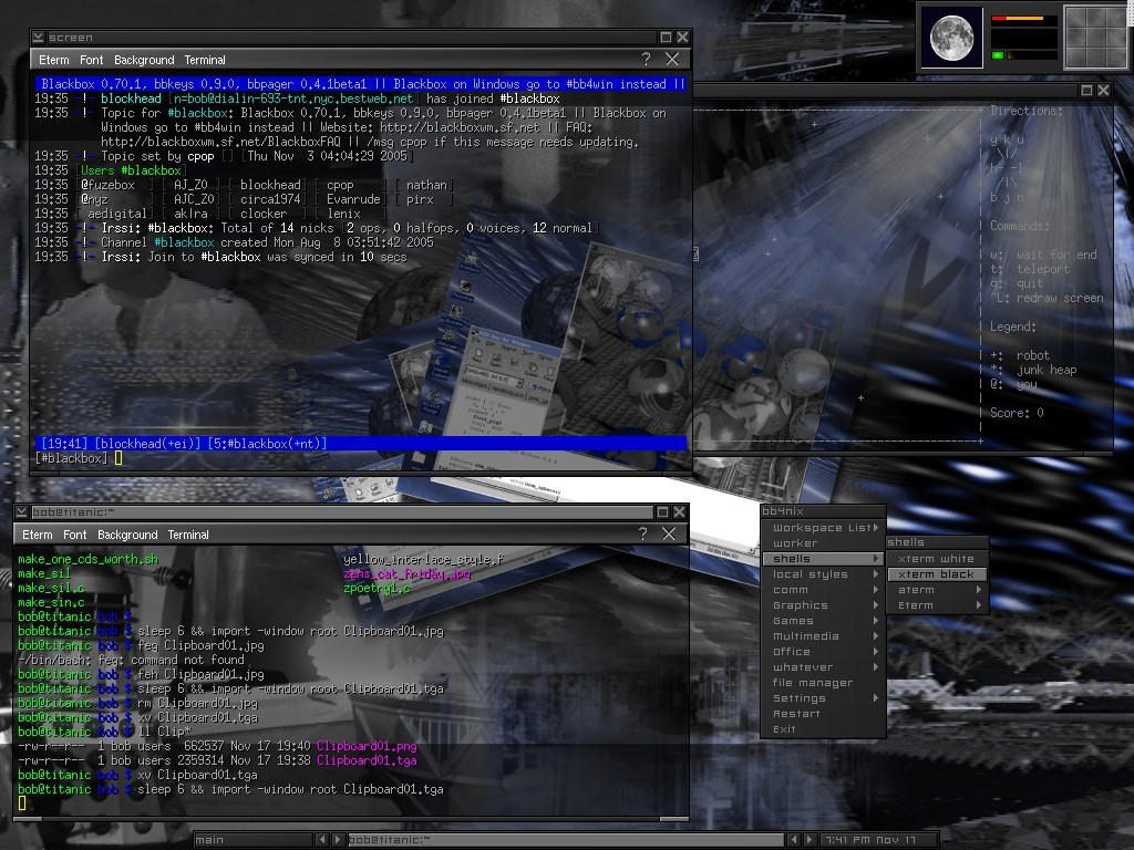 another linux blackbox screen by blockhead