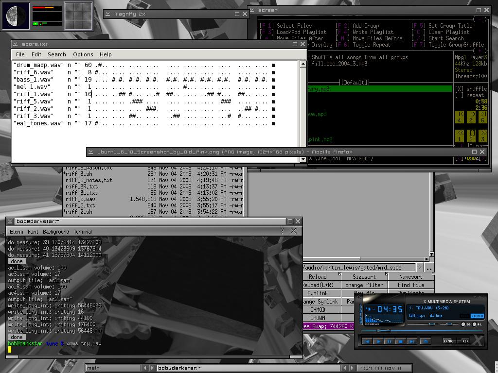 slackware screenie by blockhead