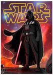 Darth Vader from stars wars