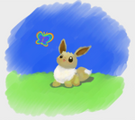 Eevee Spring Contest Entry by ezeqquiel