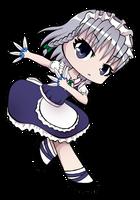 Chibi Sakuya by Jakly